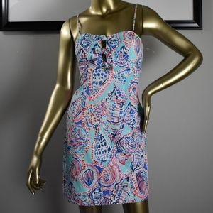 LILLY PULITZER 646 Style 97565 Cut Out Dress 00